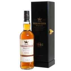 Highland Queen Majesty Single Malt Scotch Wisky 1986 40%VOL 0,70L