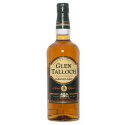 Glen Talloch Blended Malt Aged 8 Years Scotch Whisky 40%VOL 0.7L