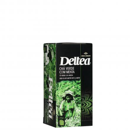 Deltea Green Tea With Mint 37,5 G (25 x 1,5 G)